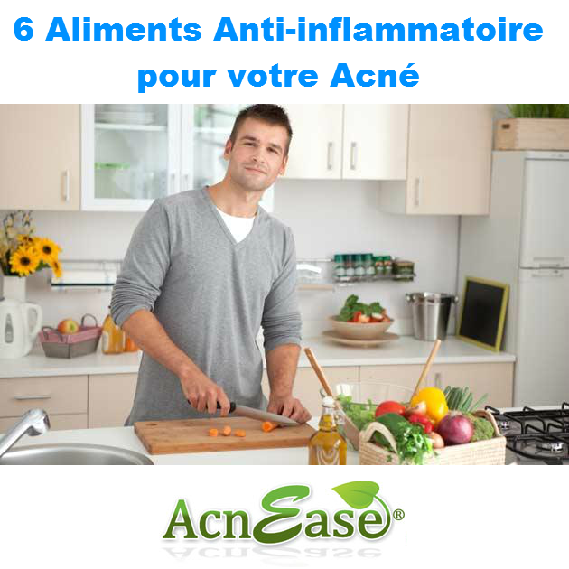 6 aliments anti inflammatoire pour votre acn acnease. Black Bedroom Furniture Sets. Home Design Ideas
