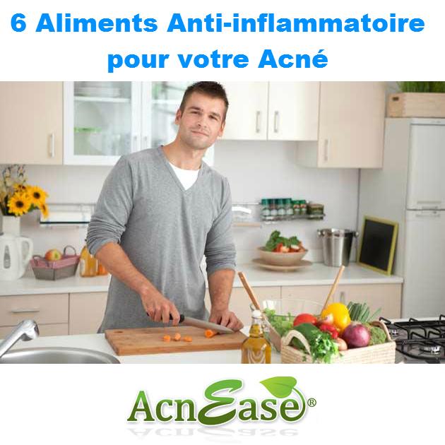 6 aliments anti inflammatoire pour votre acn acnease. Black Bedroom Furniture Sets. Home Design Ideas