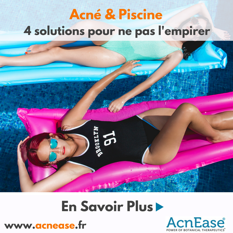 4 solutions pour ne pas empirer son acné quand on va à la piscine ?