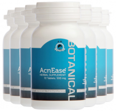 AcnEase all natural botanical acne treatment for adult